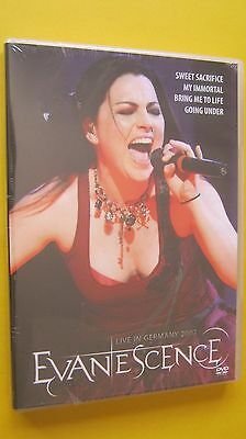 Dvd    Evanescence   Live In Germany 2007        Dvd
