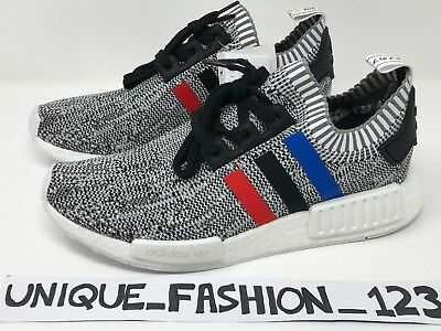 ae406bc99ba82 ADIDAS NMD XR1 Black Grey Red Mens Woven Mesh Trainers S76851 UK 6 7 ...