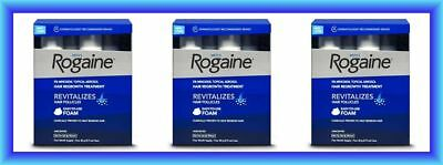 ROGAINE FOAM MENS 12 MONTH HAIR LOSS MINOXIDIL TOPICAL AEROSOL - Special buy