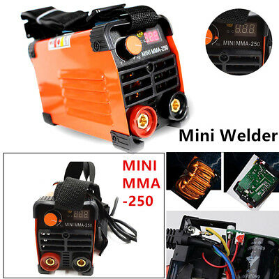 Good 1xhandheld Mini Mma Electric Welder 220v Power Inverter Arc Welding Machine Tool Tig Welders