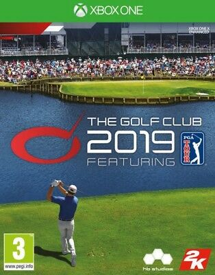 The Golf Club 2019 Featuring PGA Tour Xbox One * NEW SEALED PAL *