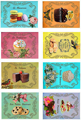 Exotic Birds On Love Verse Glossy Finish Card Toppers Crafts Embellishment