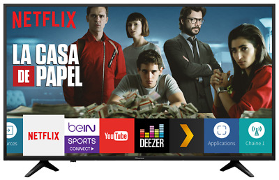"Hisense Smart TV 50"" / 127 cm Ultra HD 4K Wifi - Slim Design - H50A6140"