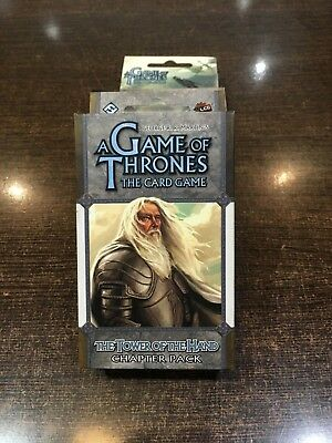 A Game of Thrones THE TOWER OF THE HAND Chapter pack Fantasy flight LCG