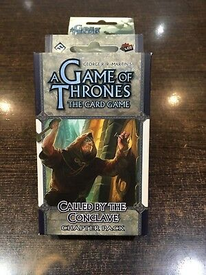 A Game of Thrones CALLED BY THE CONCLAVE Chapter pack Fantasy flight LCG
