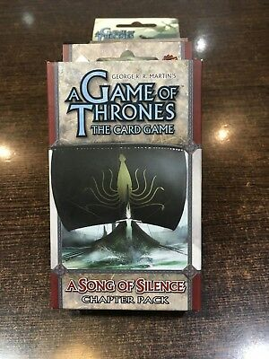 A Game of Thrones A SONG OF SILENCE Chapter pack Fantasy flight LCG