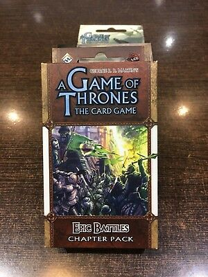 A Game of Thrones EPIC BATTLES Chapter pack Fantasy flight LCG