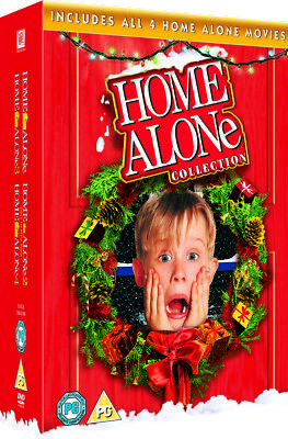 Home Alone Movie Collection (4 Discs) DVD