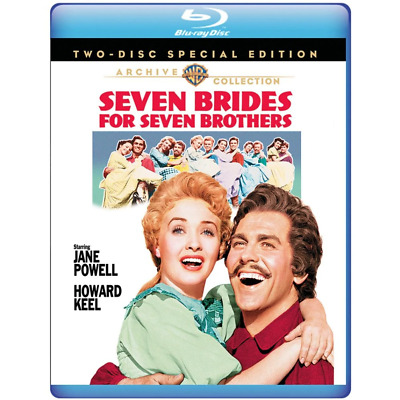 Seven Brides for Seven Brothers (1954) 2 Disc Set | New | Blu-ray Region free