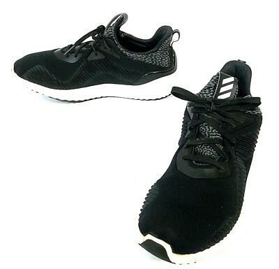 53b8d87b40bc4 NEED INSOLE Men s 12 Adidas Alpha Bounce RC AlphaBounce Shoes Black White  B54189