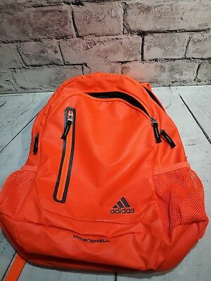 49f5a8908716 Adidas Hydroshield Load Spring Backpack Bag Orange Black w PC compartment