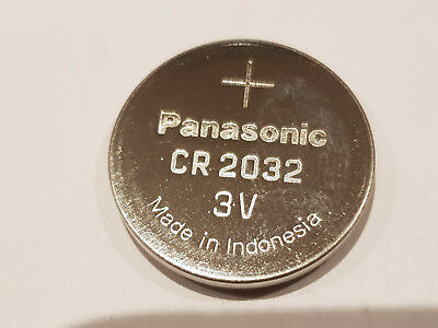 98 x Original Panasonic CR2032 3V Lithium Knopfzelle CR 2032 Set
