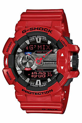 NEW Casio G-Shock GBA400-4A Classic Series Stylish Watch - Red/Black / One Size