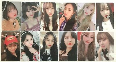 Photocard Official New Gfriend Time For Us Daybreak Daytime Midnight Photo Card