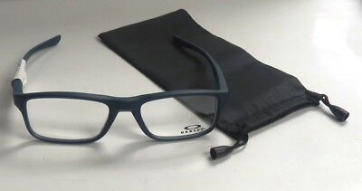 488885ca91 Oakley OX8081-0353 Plank 2.0 Soft Touch Universal Blue Eyeglasses 53-18-139