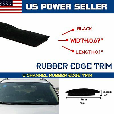 Helpful 5m Rubber Seal Strip Trim For Car Front Rear Windshield Sunroof Weatherstrip New To Enjoy High Reputation In The International Market Car Video Car & Truck Parts
