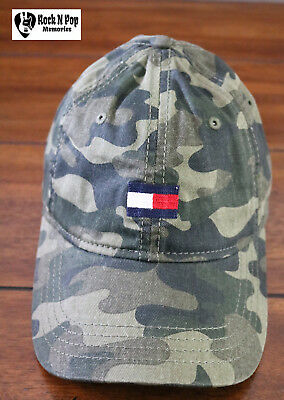 2a43ee62684 Tommy Hilfiger Men s Ardin Dad Camouflage Baseball Cap OSFA Camo Adjustable  Size