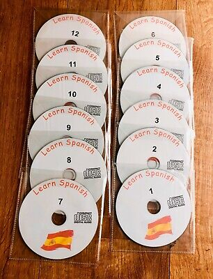 Learn How To Speak Spanish Language complete training course 12 audio cd