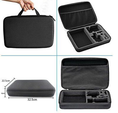 Large Carry Case fits GoPro Hero 3 4 5 6 7 Protective Hard Eva Cover Zip Bag