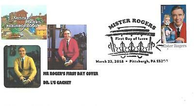 First Day Cover Mr. Roger's US Scott#5275 Dr. L's Cachet#70