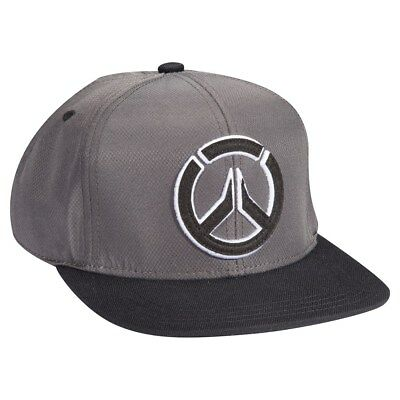 AUTHENTIC OVERWATCH BLOCKED Emroidered Logo Stretch Fit Hat Grey NEW ... dd77d8038d15