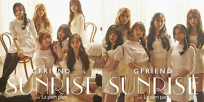 New GFRIEND SUNRISE First Limited Edition Type A B Set 2 CD DVD Photo Book Japan