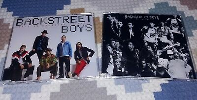 KIT 2 CDs Singles Backstreet Boys - Don't Go Breaking My Heart + Chances / DNA