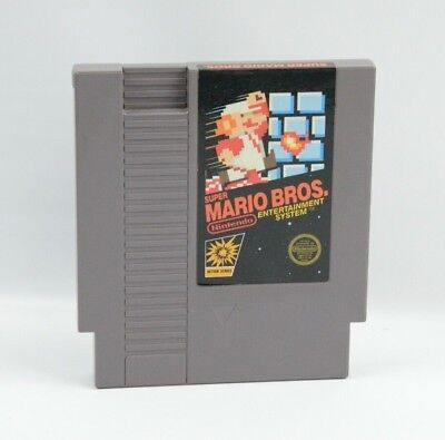 Super Mario Bros. Original Nintendo NES game 100% Authentic 5 Screw Tested