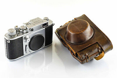 Minolta 35 First Model Type D Body and Case