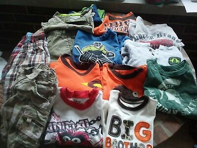 Boys Infants to 4T mixed lot of clothing winter summer snow pants 10 items