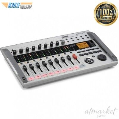NEW ZOOM Multitrack Recorder 8 track simultaneous recording 24 simultaneous R24