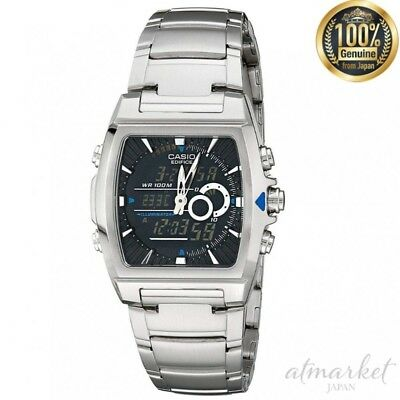 CASIO EFA-120D-1AV Watch EDIFICE Analogy Thermometer Men's genuine from JAPAN
