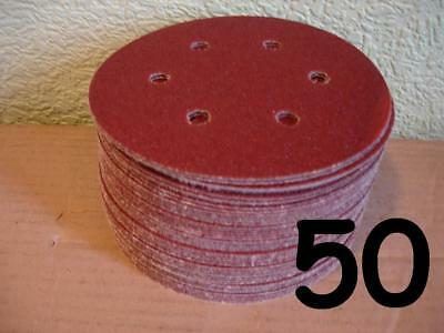 """150Mm Sanding Discs Hook And Loop 6"""" 6 Inch Sheets Pads"""