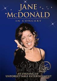 Jane McDonald: Live In Concert Dvd Brand New & Factory Sealed