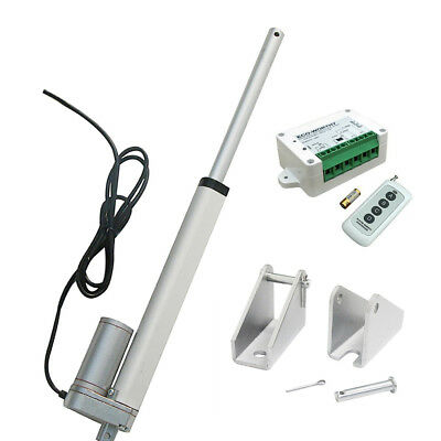 12'' 330lbs 12V Linear Actuator W/ Wireless Control Kit for Door Open, Auto,Car