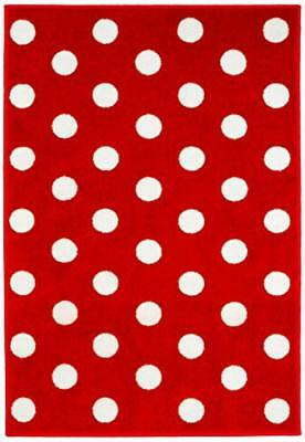 (TG. 100 x 150) Kit For Kids MAT9001 Tappeto del Bambino, Rosso - NUOVO