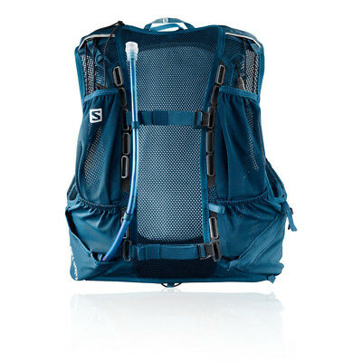 218fdc30 SALOMON MENS BAG Skin Pro 10 Set Running Backpack Blue Sports Waterproof