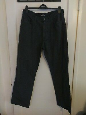 Clothing, Shoes & Accessories Mens Pierre Cardin Jeans Straight Fit Raw Indigo Hand Treated Zip W36 L33 New P5