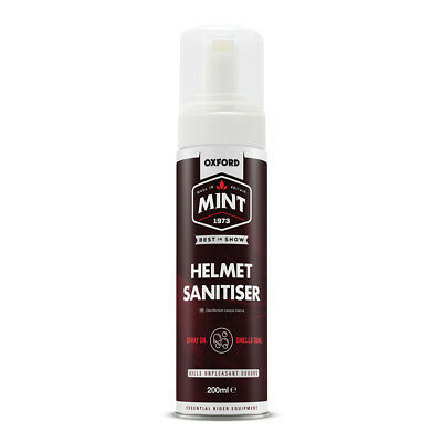 Oxford Mint Bicycle Cycle Bike Helmet Clothing Shoe Foam Sanitiser 200ml - OC300