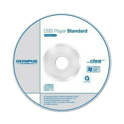 OLYMPUS N2281021 DSS Player Software Diktiermodul CD-ROM (Diktat) Diktiermodul