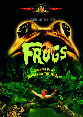 Frogs DVD |MGM Classic (Ray Milland) (1972)
