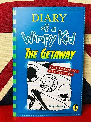 Diary of a Wimpy Kid: The Getaway by Jeff Kinney (Paperback 2019) Book 12 *NEW*