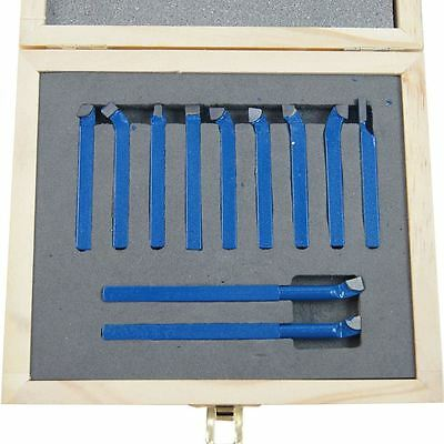 11011806 Lathe 11Pc Engineer Boring Milling Cutting Turning Tool Set 6MM
