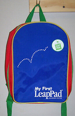 Leap Frog My First LeapPad Learning system Backpack/Carrying Case, + 1 cartridge