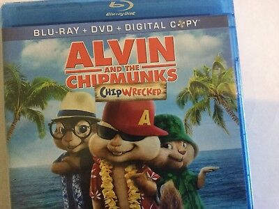 Alvin and the Chipmunks: Chipwrecked ( Blu-ray + DVD Disc, 2012, 2-Disc Set)