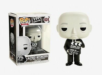 Funko Pop Movies: Director - Alfred Hitchcock Vinyl Figure Item #33183