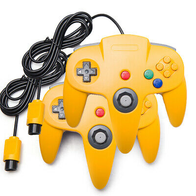 N64 Controller Joystick Joypad Wired for Classic 64 Console Game System Black US