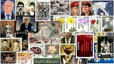 Kosovo Stamps 2018. Complete year all issues. Set and Souvenir sheet. MNH