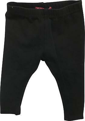 PRE-OWNED Girls Young Dimension Black Legging Trousers Size 1.5-2 Yrs