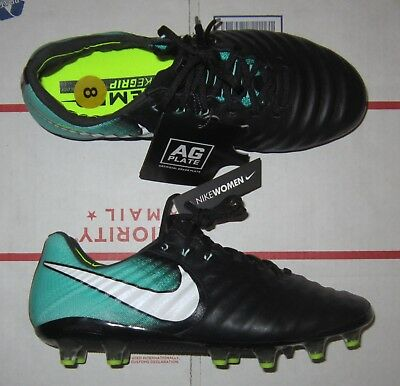 the latest a0762 a7e6b NIKE TIEMPO LEGEND VII AG Flyknit ACC Women Soccer Cleats Shoes, 917807-004